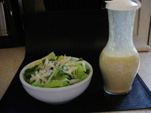 Light and Healthier Caesar Dressing