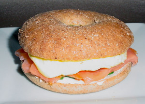 Egg-and-salmon-bagel-breakf