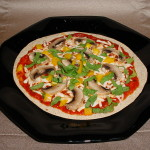 Healthy Multi Grain Tortilla Pizza 2
