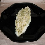 Herbed Fish with Sauteed Onion and Garlic