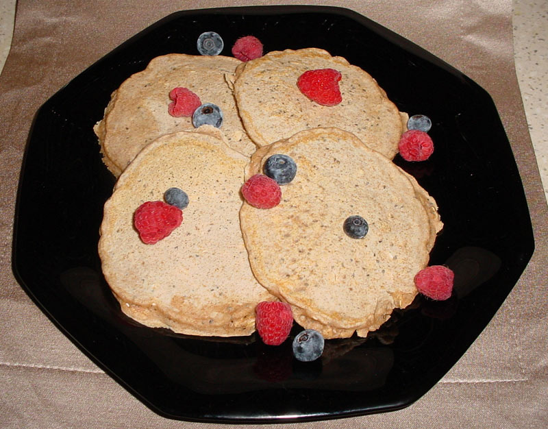 Chia-Seed-Pancakes-Topped-with-Berries