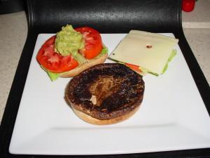 Rosemary Marinated Portabella Mushroom Burgers