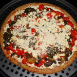 Vegetable Pizza Whole Pie